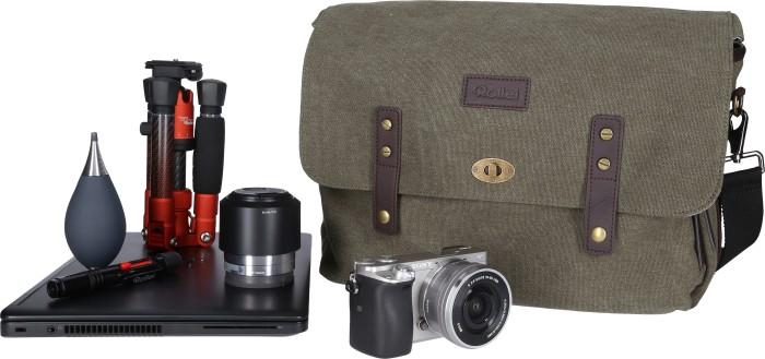 Rollei Vintage Kameratasche grün (20296)