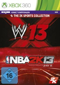 2K Sports Bundle: WWE 13 + NBA 2K13 (Xbox 360)