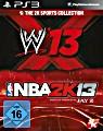 2K Sports Bundle: WWE 13 + NBA 2K13 (PS3)