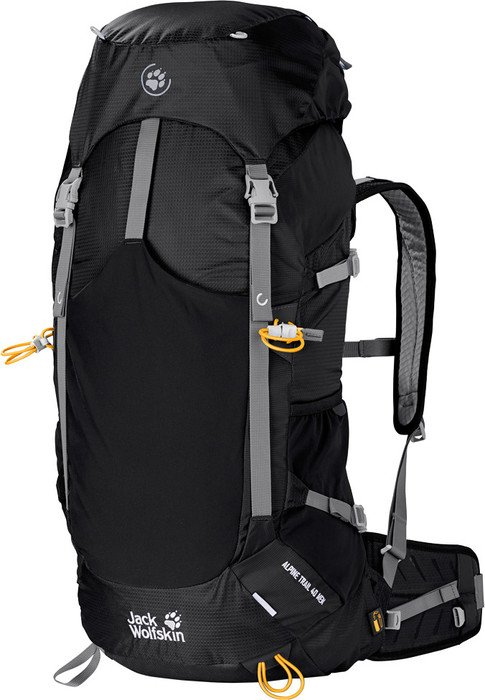 Jack Wolfskin Alpine Trail 40 black (2002051-6000)