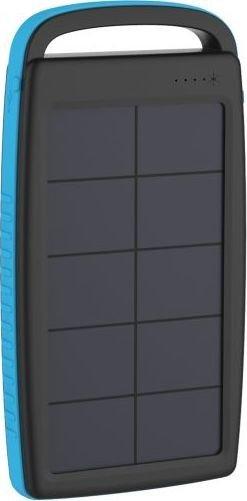 XLayer Powerbank Plus Solar 20000 schwarz/blau (215775)