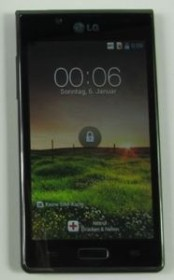 LG Optimus L7 P700 schwarz