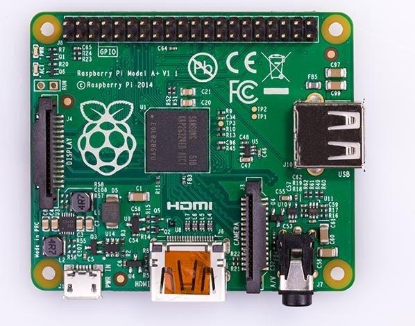 Raspberry Pi model A+, 256MB RAM
