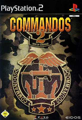 Commandos 2 - Men of Courage (niemiecki) (PS2) -- via Amazon Partnerprogramm