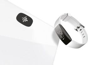 Fitbit Aria Air weiß Elektronische Personenwaage + Inspire HR (FB203WTBNDL-DH)
