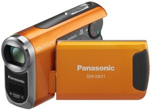 Panasonic SDR-SW21 orange