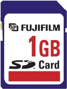 Fujifilm SD Card High Quality  128MB (42110010/42110040)