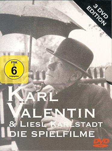 Karl Valentin & Liesl Karlstadt - Die Spielfilme (3 DVDs) -- via Amazon Partnerprogramm