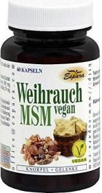 Espara Weihrauch MSM vegan Kapseln, 60 Stück
