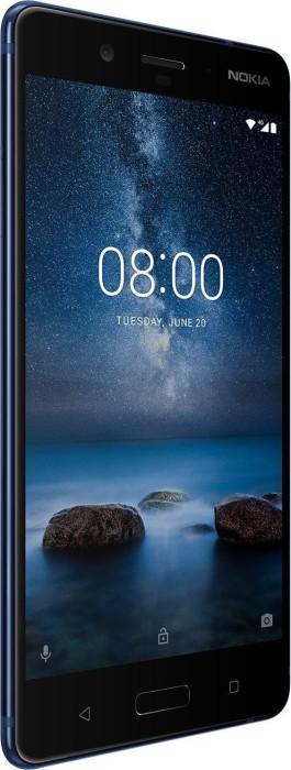 Nokia 8 Single-SIM 64GB glänzend blau
