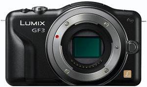 Panasonic Lumix DMC-GF3 red body