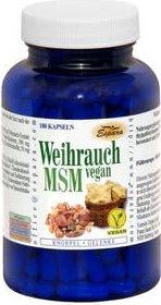 Espara Weihrauch MSM vegan Kapseln, 180 Stück