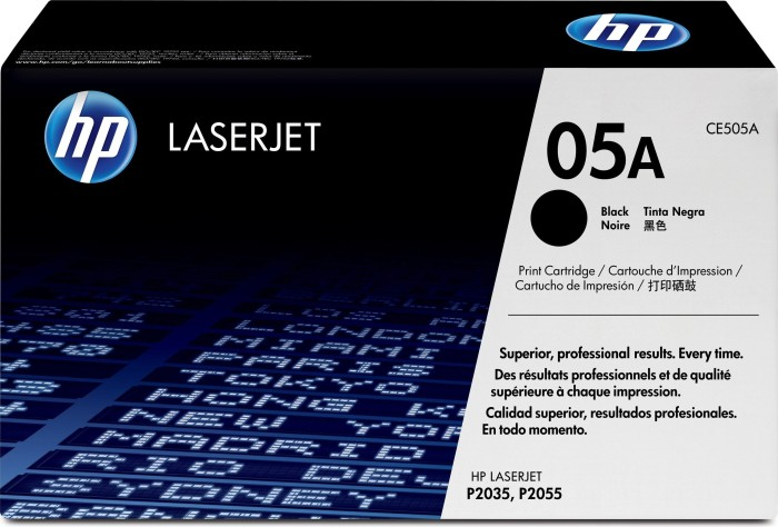 HP Toner 05A black (CE505A)