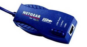 Netgear FA101 USB1.1 Fast-Ethernet-Adapter