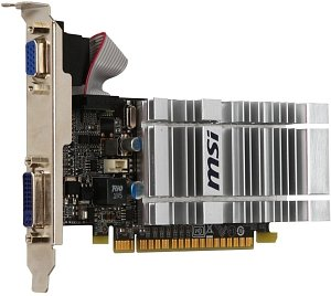 MSI N8400GS-D1GD3H/LP, GeForce 8400 GS, 1GB DDR3, VGA, DVI (V229-019R)