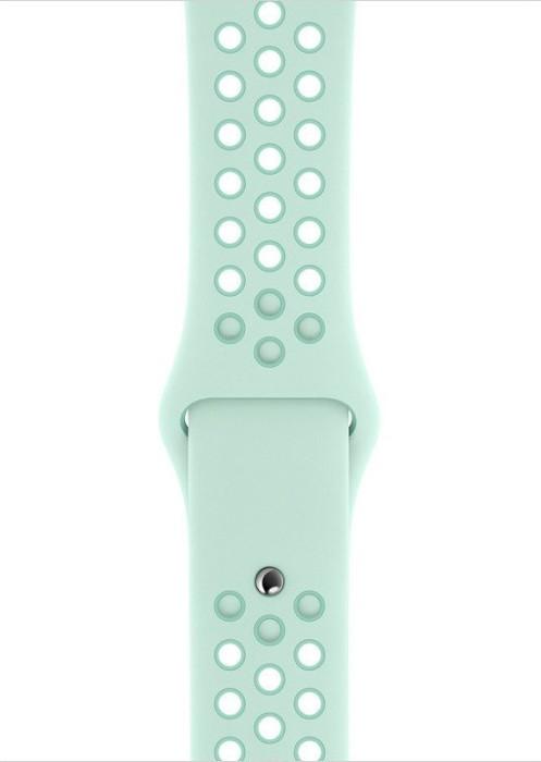 Apple Nike Sportarmband S/M und M/L für Apple Watch 44mm teal tint/tropical twist (MV852ZM/A)