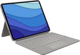 "Logitech Combo Touch, KeyboardDock for Apple iPad Pro 12.9"" 2021, sand, CH (920-010217)"