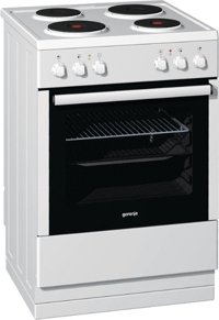 Gorenje E63175AW electric cooker with electric hob