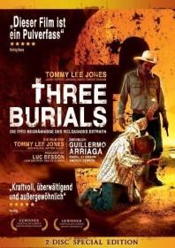 Three Burials - Die drei Begräbnisse des Melguiades Estrada (Special Editions) (DVD)