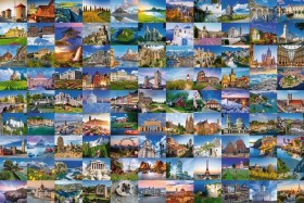 Ravensburger Puzzle 99 Beautiful Places in Europe (17080)