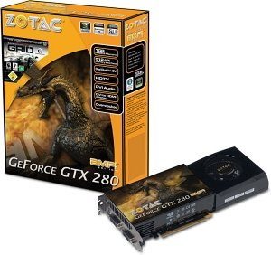 Zotac GeForce GTX 280 AMP!, 1GB DDR3, 2x DVI, TV-out (ZT-X28E3LA-FCP)