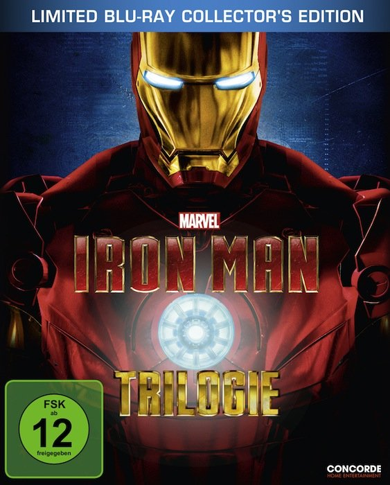 Iron Man Trilogie (Special Editions) (Blu-ray)
