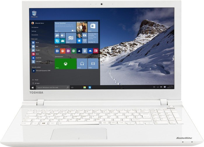 Toshiba Satellite L50-C-1GX white, UK (PSKXEE-01200NEN)