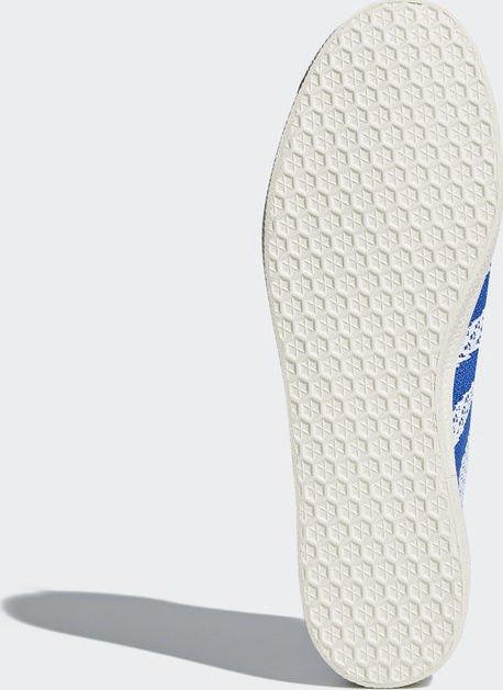sports shoes d3ea2 ae8a8 adidas Gazelle Primeknit ftwr whitehi-res bluechalk white (Herren)  (CQ2790)