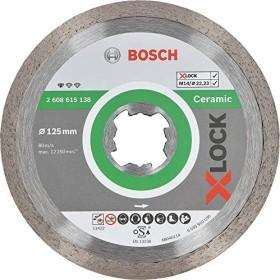 Bosch Professional X-LOCK Standard for Ceramic Diamanttrennscheibe 125x1.6mm, 1er-Pack (2608615138)