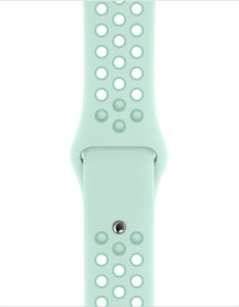 Apple Nike Sportarmband S/M und M/L für Apple Watch 40mm Teal Tint/Tropical Twist (MV7X2ZM/A)