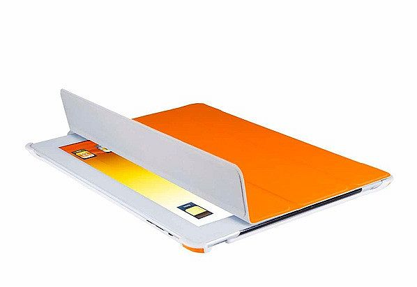 V7 slim Tri-Fold sleeve for iPad orange (TA37ORG)
