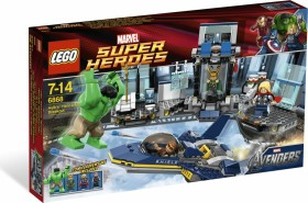 LEGO Marvel Super Heroes Play Set - Hulk´s Helicarrier Breakout (6868)