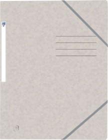 Oxford Top File+ Eckspannermappe A4, beige (400116328)