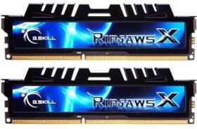 G.Skill RipJawsX schwarz DIMM Kit 8GB, DDR3-1333, CL7-7-7-21 (F3-10666CL7D-8GBXH)
