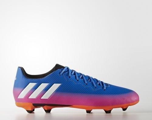 adidas Herren Buty Messi 16.3 FG BA902141 1/3 Fußballschuhe, Blau (Blue/FTWR White/Solar Orange), 41 1/3 EU