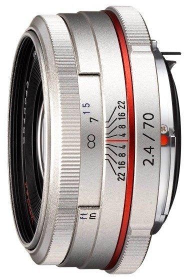 Pentax HD DA 70mm 2.4 Limited silver (21440)