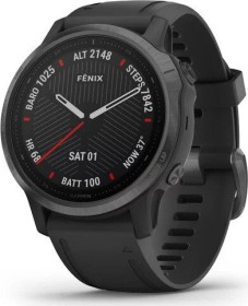 Garmin Fenix 6S Saphir carbon grey dlc/black (010-02159-25)