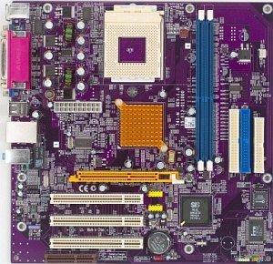 Elitegroup ECS-741GX-M, SiS741GX [PC-2700 DDR]