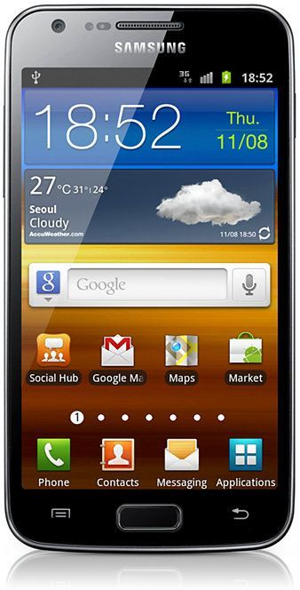Samsung Galaxy S2 LTE i9210 with branding
