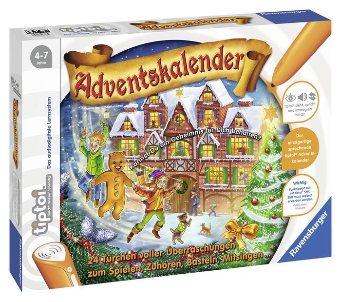 Ravensburger tiptoi Spiel: Adventskalender - Mandelmann (00562)