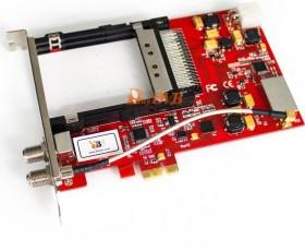 TBS DVB-S2 Doppel-Tuner mit CI, PCIe x1 (TBS-6991)