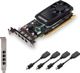 PNY Quadro P620, 2GB GDDR5, 4x mDP (VCQP620-PB)