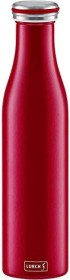 Lurch To Go Isolierflasche 0.75l bordeaux (240926)
