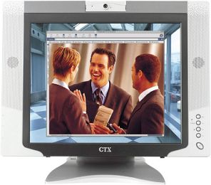 "CTX M730V, 17"", 1240x1024, analog/digital/Video-Inputs"