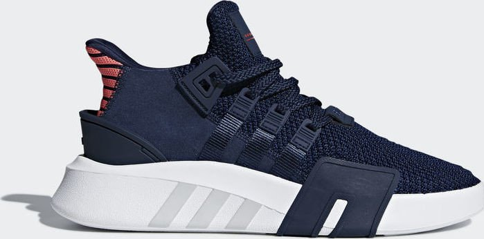 info for 9cad6 6efff adidas EQT Bask ADV collegiate navyreal coral (Herren) (CQ2996)