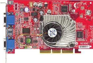 MSI MS-8867 G4MX460-VTP, GeForce4 MX460, 64MB DDR, VIVO, AGP