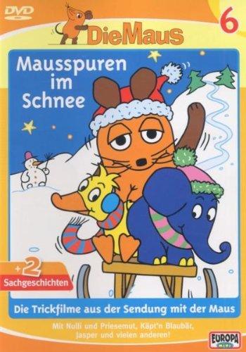 Die Sendung mit der Maus Vol. 6: Mausspuren im Schnee -- via Amazon Partnerprogramm