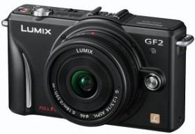 Panasonic Lumix DMC-GF2 schwarz Gehäuse