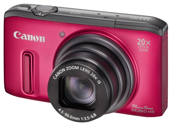 Canon PowerShot SX260 HS red (6195B012)