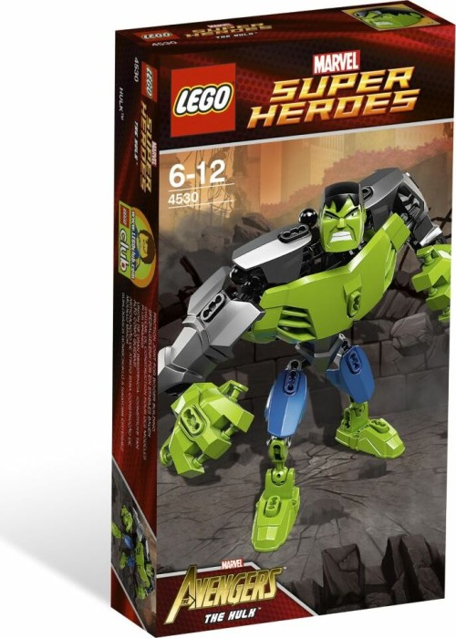 LEGO Marvel Super Heroes Buildable Figure - The Hulk (4530 ...